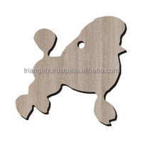 Laser Cut Wooden Dog