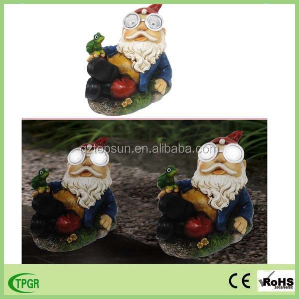 Manufacturer handmade resin figurines garden decorative funny gnome