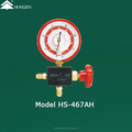 Aluminum Model HS-467AH 1-Way Manifold Gauge 1/4SAE