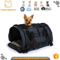 Flexible Height Airline Approved Professional Pet Travel Tote Cloth Dog Carrier