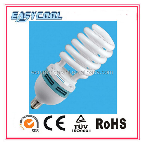 E27 High Power Factory Wholesales Price g9 cfl half spiral cfl 80w