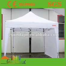 Customer wedding decoration portable aluminium frame folding gazebo tent with waterproof canopy for sale