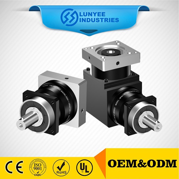 Right Angle Round Flange Output Power Transmission Planetary Gearbox
