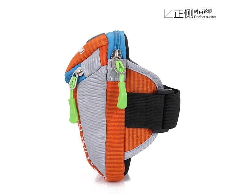 Оптовая продажа маленький мобильный телефон водонепроницаемый нейлон носит рука сумка