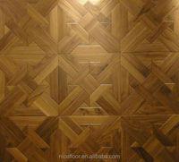 Black Walnut Parquet Layered Solid Wood Flooring
