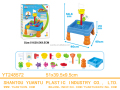 Beach Toy Sand Water Table 21pcs