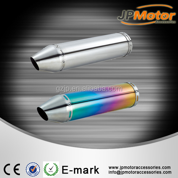High performance 100cc 50cc motorcycle exhaust
