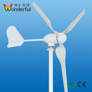Small 600W Portable Residential Horizontal Axis Wind Turbine for sale from China