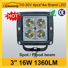 Excellent automobile 1360LM 16W led offroad jeep worklight