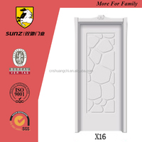 Korean style white MDF door