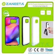 2D soft flexible sublimation phone cover for Samsung Galaxy S6 | full TPU soft phone case for samsung S6