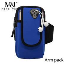 Running arm brackets wrist packs multi-functional outdoor sports mobile phone carry bag