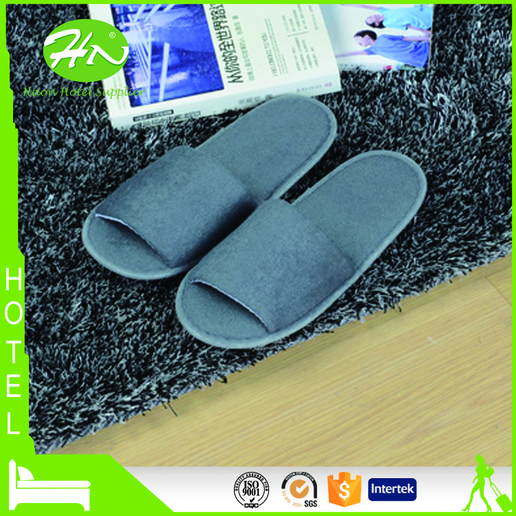 Unique Design Soft Terry Slipper for Home and Hotel Use