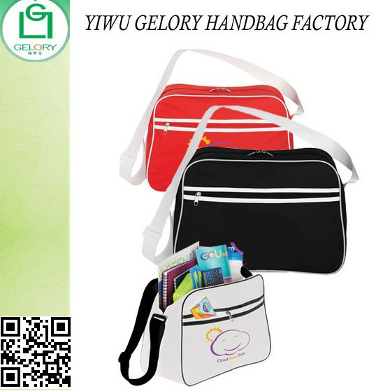 Personalize Promotional Retro Business Bags&Polyester shoulder sling bag