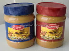 Peanut butter jars for packing peanut butter