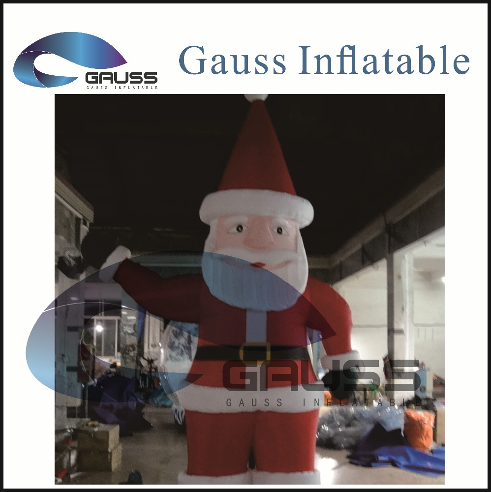 inflatable characters cartoon/inflatable Father Christmas cartoon