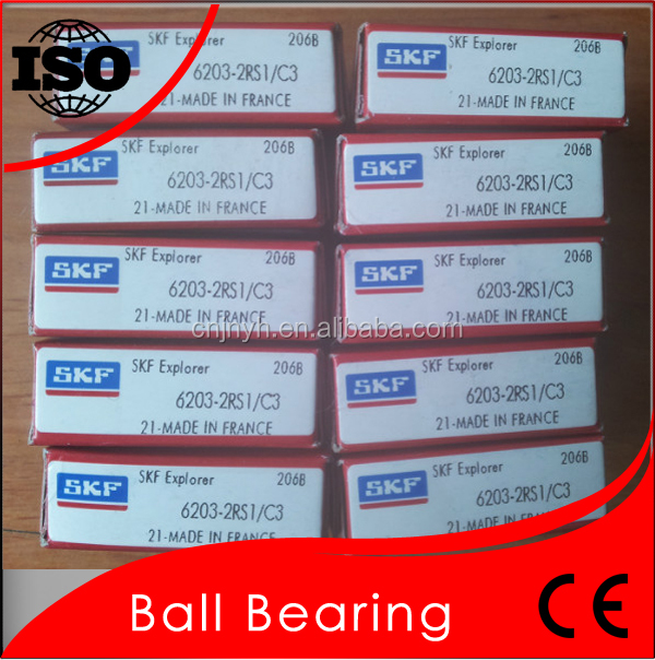 For Machine Low Friction High rotating SKF Bearing 6203 True Bearing