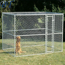 Galvanized Chain Link Fence Panel Dog Run Kennel With High Quality For Sale