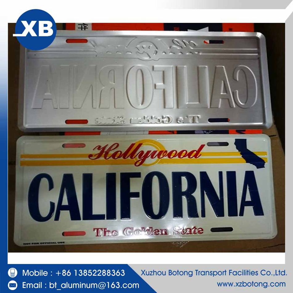 Professional high quality high security widely car japan license plate