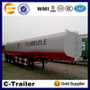 high quality China chengshida brand fuel oil tanker semi trailer