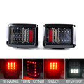 US/ European adition tail light lens material auto taillight for Jeep Wrangler