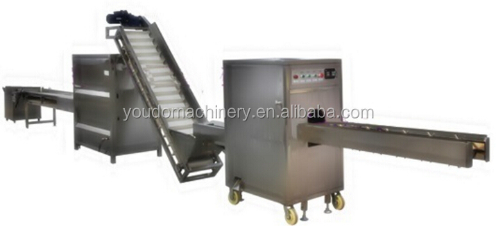 Onion Roots Cutting and Peeling Product Line/Onion Peeling Machine