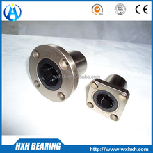 LMK20UU cnc linear motion bearing with flange