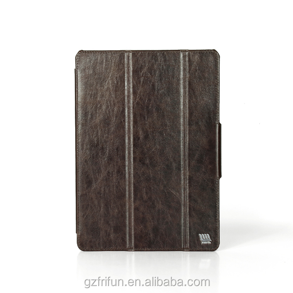 China OEM high quality three fold case, PU leather for ipad air 2