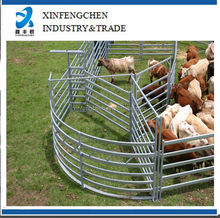 Hot dipped galvanized livestock metal fence cattle panels