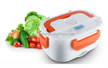 Plastic 1.05L Heating Electric Lunch Box With Removable Compartment
