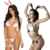 Beautys love sexy lingerie bunny costume,white rabbit costume,sexy easter bunny costume