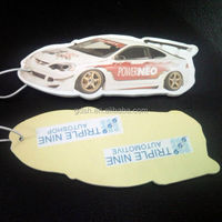 make Branded Hanging Car Air Freshener Made of Paper