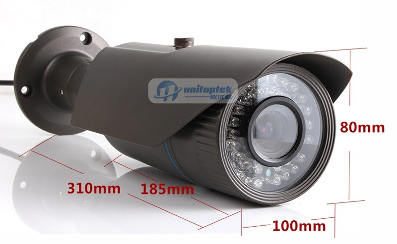 Outdoor Bullet IP Camera HD 1080P 2.0Megapixel Surveillance camera Waterproof 4X Auto Vari-Focal Lens H.264 IR Range 40m