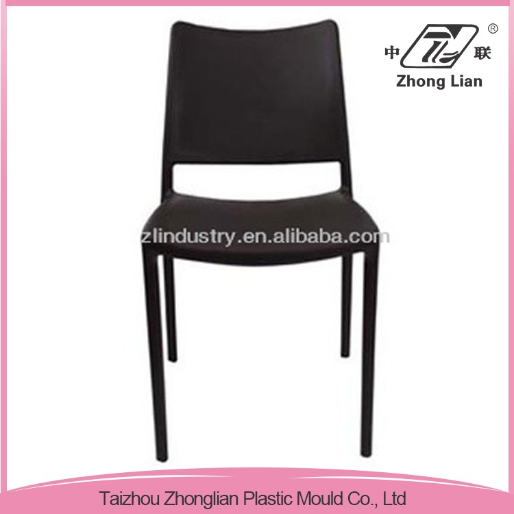 PP plastic stable stackable garden outdoor dining chair