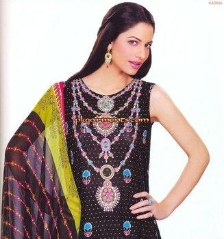 Karma Fabric The Gypsy Summer Lawn Collection 2012