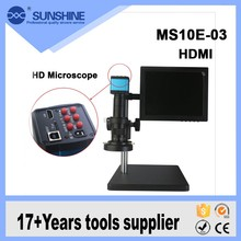 2016 Hot 10 Inch LCD Screen Led Light Digital HDMI Electron Microscopes For Sale