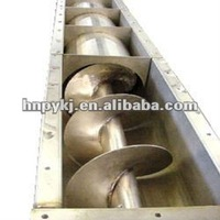 U Trough Auger Screw Conveyors for Cosmetics Additives Powder