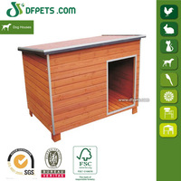 High Quality Bed For Big Dog Wooden Dog House For Sale DFD007