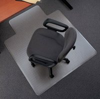 Clear Color Plastic Carpet Protection For Chairs