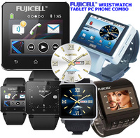 Tiny Tablet PC Phone Along with Wristwatch Combo Great Solution on Go