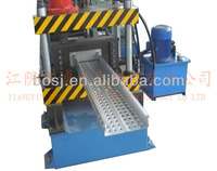 Scaffolding planks making machine,China floor board roll forming machine