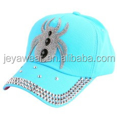 New Fashion Factory Hot Sell Rhinestone Crystal Crown Animals Children Adults Baseball Caps Brand Popular Beauty Snapbacks Hats