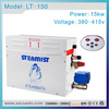 Steamist auto drain 15KW 380V steam bath generator steam engine generator with CE for sale