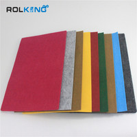 colorful nonwoven fabric, 100% polyester felt