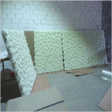 SAST-70009 artificial flower wall wedding backdrop for stage decor
