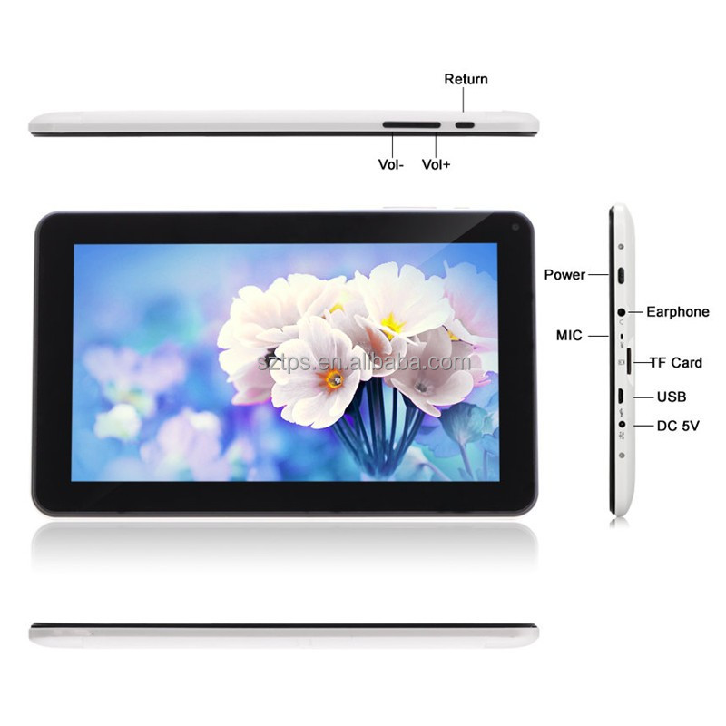 7' 10.1 inch android tablet replacement screen pc tablet 1+8gb 102*600ips SOFIA 3GR pc tablet with DC jack tablet pc android 5.1