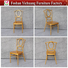 2017 new design gold wedding chairs YCP27