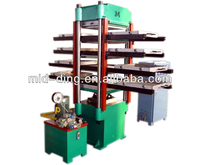 rubber tile making machine/rubber floor tire