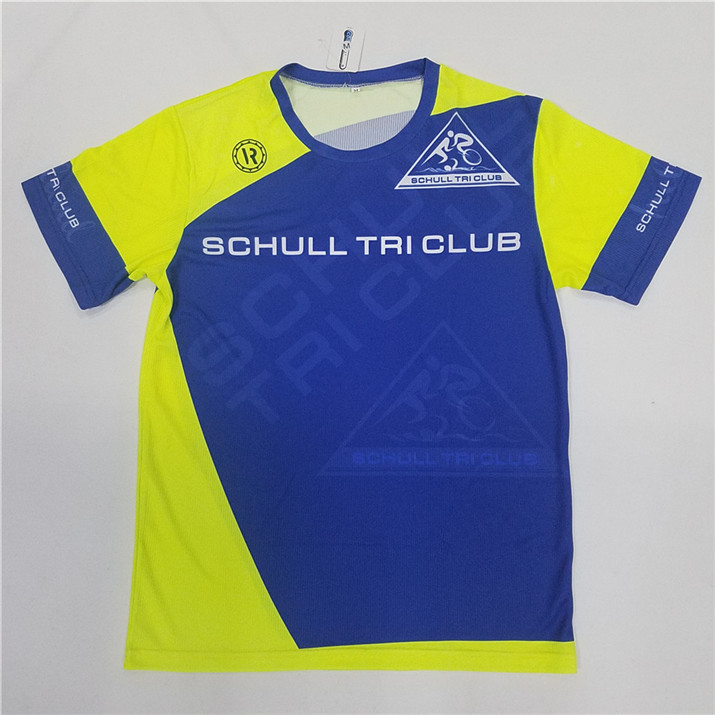 Professional clothes coolmax tshirt quick dry men's and ladies cheap price running jersey