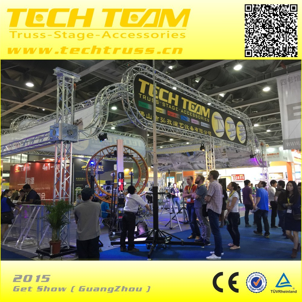 Height 6.5m Aluminum Speaker Truss Tower,Array Line Speakers Truss For Sale, High Quality Array Line Speakers Truss